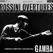 London Symphony Orchestra, Pierino Gamba: Rossini: Overtures - Plak