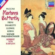 Christa Ludwig, Herbert von Karajan, Luciano Pavarotti, Mirella Freni, Robert Kerns, Wiener Philharmoniker: Puccini: Madama Butterfly - CD