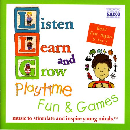 Çeşitli Sanatçılar: Listen, Learn and Grow: Playtime Fun and Games - CD