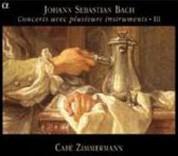 Pablo Valetti, Cafe Zimmermann: Johann Sebastian Bach & Concerts avec plusieurs instruments - III - CD
