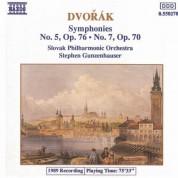 Dvorak: Symphonies Nos. 5 and 7 - CD