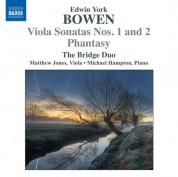 Bridge Duo: Bowen: Viola Sonatas Nos. 1 & 2 - Phantasy - CD