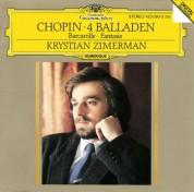 Krystian Zimerman: Chopin: Fantaisie, Barcarolle, Balladen - CD