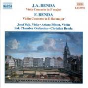 Benda, F.: Violin Concerto  / Benda, J. A.: Viola Concerto - CD