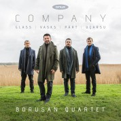 Borusan Quartet: Company - CD