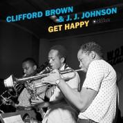 Clifford Brown, J.J. Johnson: Get Happy + 2 Bonus Tracks! (Images By Iconic Jazz Photographer Francis Wolff) - Plak