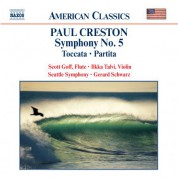 Creston: Symphony No. 5 / Toccata / Partita - CD