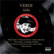 Maria Callas: Verdi: Aida (Callas, Tucker, Serafin) (1955) - CD