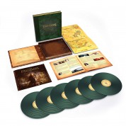 Howard Shore: The Lord Of The Rings: Return Of The King  (Deluxe Box Set - Green Vinyl) - Plak
