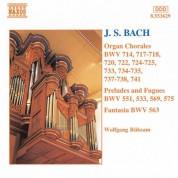 Bach, J.S.: Organ Chorales / Preludes and Fugues / Fantasia - CD