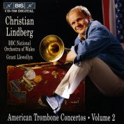 Christian Lindberg, BBC National Orchestra of Wales, Grant Llewellyn: American Trombone Concertos, Vol.2 - CD