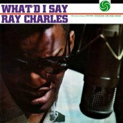 Ray Charles: What I'd Say + 2 Bonus Tracks! - Limited Edition In Solid Red Colored Vinyl. - Plak