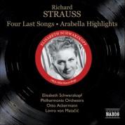 Strauss, R.: Four Last Songs / Arabella (Highlights) (Schwarzkopf, Ackermann, Matacic) (1953, 1954) - CD