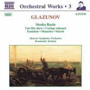 Konstantine Krimets: Glazunov, A.K.: Orchestral Works, Vol.  4 - Stenka Razin / Une Fete Slave / Cortege Solennel - CD
