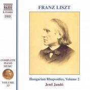 Jeno Jando: Liszt: Hungarian Rhapsodies, Vol. 2 - CD