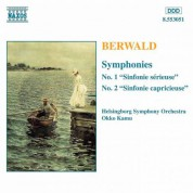 Berwald: Symphonies Nos. 1 and 2 - CD