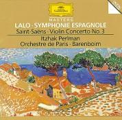 Daniel Barenboim, Itzhak Perlman, Orchestre de Paris: Lalo/ Saint-Saëns/ Berlioz: Symphony Espagnole/ Violin Concerto No 3 - CD