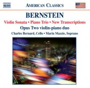 Opus Two: Bernstein: Violin Sonata - Piano Trio - New Transcriptions - CD