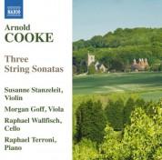 Morgan Goff, Susanne Stanzeleit, Raphael Terroni, Raphael Wallfisch: Cooke: 3 String Sonatas - CD