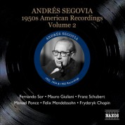 Segovia, Andres: 1950S American Recordings, Vol. 2 - CD