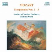 Mozart: Symphonies Nos. 1 - 5 - CD