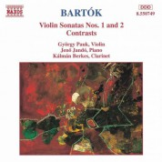 Bartok: Violin Sonatas Nos. 1 and 2 / Contrasts - CD