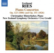 Christopher Hinterhuber: Ries: Piano Concertos, Vol. 1 - CD