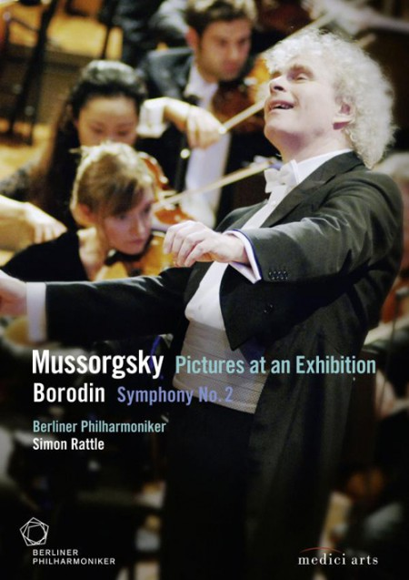 Berliner Philharmoniker, Sir Simon Rattle: Borodin: Symphony No.2 / Mussorgsky: Pictures at an Exhibition - Gala 07 - DVD