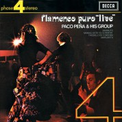 Paco Peña and his Group: Flamenco Puro Live - Plak