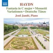 Jenö Jandó: Haydn: Fantasia in C major - CD