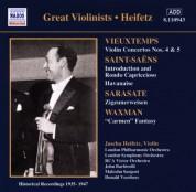 Vieuxtemps: Violin Concertos Nos. 4 and 5 (Heifetz) (1935-1947) - CD