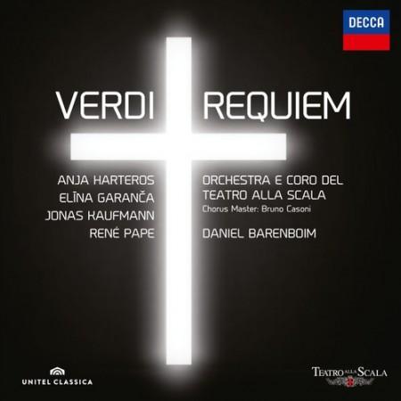 Anja Harteros, Daniel Barenboim, Elina Garanča, Jonas Kaufmann, Coro del Teatro alla Scala di Milano, René Pape, Teatro alla Scala: Verdi: Requiem - CD