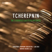 Singapore Symphony Orchestra, Lan Shui, Noriko Ogawa: Tcherepnin: Complete Symphonies & Piano Concertos - CD