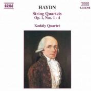 Haydn: String Quartets Op. 1, Nos. 1- 4 - CD