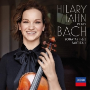 Hilary Hahn: Bach: Violin Sonatas Nos. 1 & 2; Partita No. 1 - Plak