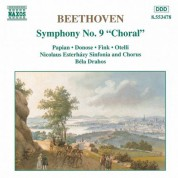 Bela Drahos, Nicolaus Esterhazy Sinfonia: Beethoven: Symphony No. 9, 'Choral' - CD
