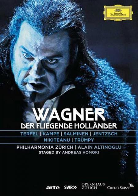 Alain Altinoglu, Anja Kampe, Bryn Terfel, Fabio Trümpy, Liliana Nikiteanu, Marco Jentzsch, Matti Salminen, Philharmonia Zürich: Wagner: Der Fliegende Holländer - DVD