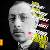 Carole Bouquet, Gerard Depardieu, Guillaume Depardieu, Shlomo Mintz: Stravinsky: Historie du Soldat - CD