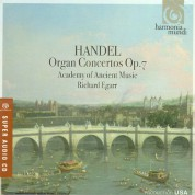 Academy of Ancient Music, Richard Egarr: Handel: Organ Concertos op.7 - SACD
