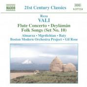 Vali: Flute Concerto / Deylaman / Folk Songs (Set No. 10) - CD