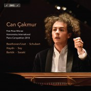 Can Çakmur: V/C: First Prize Winner Hamamatsu Int. Piano Competition 2018 - SACD