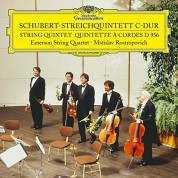 Emerson String Quartet: Schubert: String Quintet - Plak