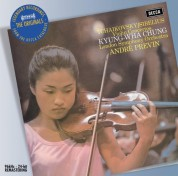 André Previn, Kyung-Wha Chung, London Symphony Orchestra: Sibelius/ Tchaikovsky: Violin Concertos - CD