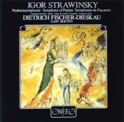 Gary Bertini, Dietrich Fischer-Dieskau, Radio Sinfonieorchester Stuttgart: Stravinsky: Palmensymphonie, Symphony of Psalms - Plak