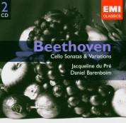 Jacqueline du Pré, Daniel Barenboim: Beethoven: Cello Soanats & Variations - CD