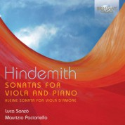 Luca Sanzò, Maurizio Paciariello: Hindemith: Sonatas for Viola and Piano - CD