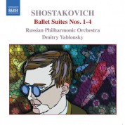 Shostakovich: Ballet Suites Nos. 1-4 - CD