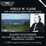 Ralph Gustafsson: Gade: The Complete Solo Organ Music - CD