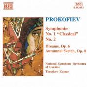 Prokofiev: Symphonies Nos. 1 and 2 / Dreams, Op. 6 - CD