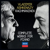 Vladimir Ashkenazy: Rachmaninov: Complete Works For Piano - CD